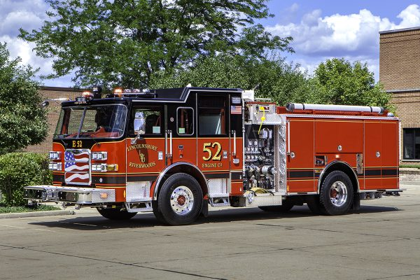 Lincolnshire Riverwoods FPD Engine 52. Larry Shapiro photo